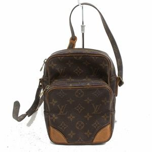 Auth Louis Vuitton Amazon Crossbody Bag #1514L18